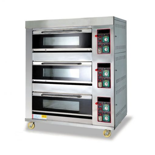 Oven Gas Roti Astro 3 Deck 6 Loyang