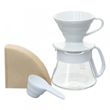Hario V60 Pour Over Kit Ceramic